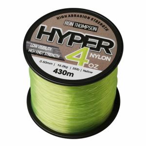 Monofilní Vlasec Ron Thompson Hyper 4 OZ Nylon Yellow 0,60mm 300m