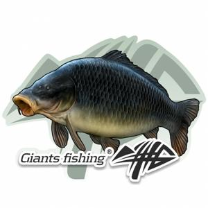 Nálepka Giants Fishing Velká Kapr Šupináč