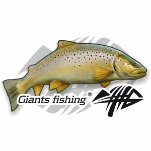 Nálepka Giants Fishing Velká Pstruh