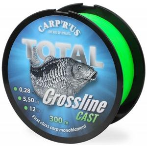 Vlasec Carp R Us Total Crossline Cast Green 300m 0,25mm 4,5kg / 10lb
