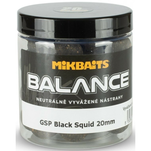 Boilie Mikbaits Gangster Balance - GSP Black Squid 20mm 250ml