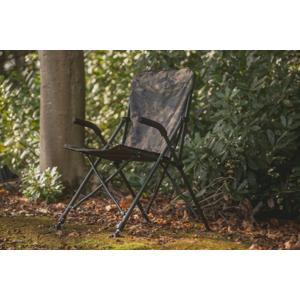 Křeslo Solar Undercover Camo Foldable Easy Chair - High