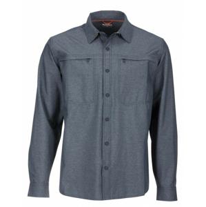 Košile Simms Prewett Stretch Woven Shirt Dark Moon Velikost L