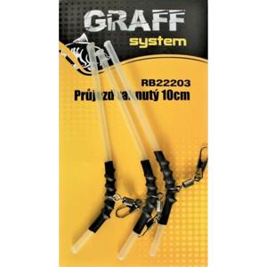3ks - Průjezd Graff System RB22203 Zahnutý 10cm