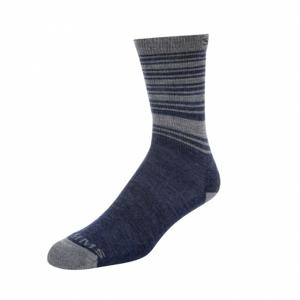 Ponožky Simms Merino Lightweight Hiker Sock Admiral Blue Velikost L