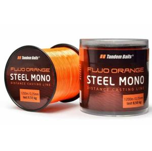 Vlasec Tandem Baits Silon Steel Mono Fluo Orange 1200m 0,30mm/6,4kg