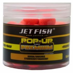 Plovoucí boilies jetfish pop-up 16mm švestka/česnek