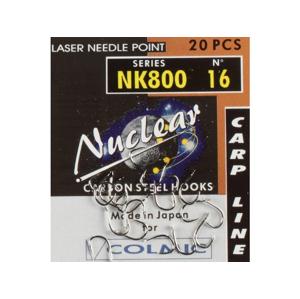 Háček colmic nuclear nk800 20ks velikost 8