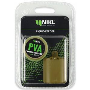 Sada Krmítka a PVA Pásky Nikl Liquidfeeder 40gr + PVA Liquid Tape 7m