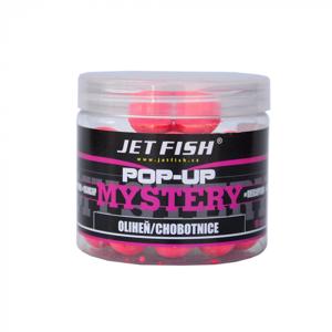 Plovoucí Boilies JetFish Pop-Up Mystery 12mm Jahoda/Moruše