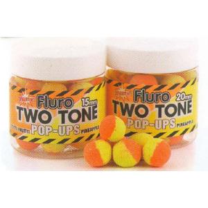 Boilies Dynamite Baits Pop-Ups Fluro Two Tone Tutti-Frutti&Pineapple Průměr-15mm