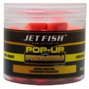 Plovoucí Boilies JetFish Pop-Up 16mm Jahoda/Brusinka