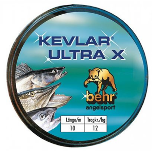 Kevlarové Lanko Behr Kevlar Ultra X 10m Nosnost 12kg