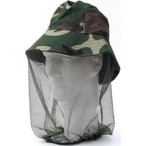 Klobouk s Moskytiérou Behr Camouflage
