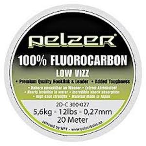 Návazcový Vlasec Pelzer Fluorocarbon 20m 0,37mm/9,0kg