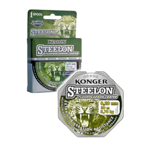 Vlasec Konger Steelon Fluorocarbon Coated 150m 0,12mm