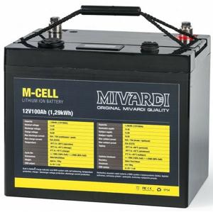 Lithiová Baterie Mivardi M-CELL 12V 100Ah