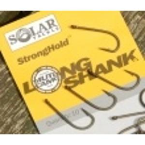 Háček Solar StrongHold Long Shank 10ks Velikost 8