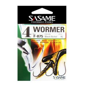 Háček Sasame Wormer Velikost 4 15ks