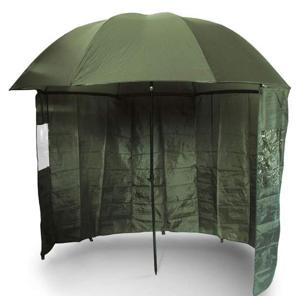 Deštník s Bočnicí NGT Brolly Side Green 220cm