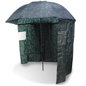 Deštník s Bočnicí NGT Kamuflážní 220cm