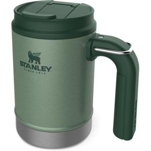 Hrnek Stanley Camp Mug Classic Series 470ml Zelený s Uchem a Očkem