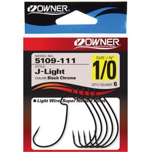 Háček Owner J-Light s Očkem Velikost 6