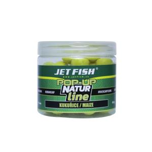 Plovoucí Boilies JetFish Natur Line Pop-Up Kukuřice 16mm
