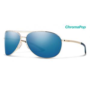 Brýle Smith Optics Serpico 2 Gold Polar Blue Mirror