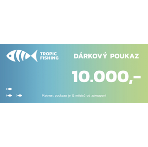Dárkový kupón- 10000