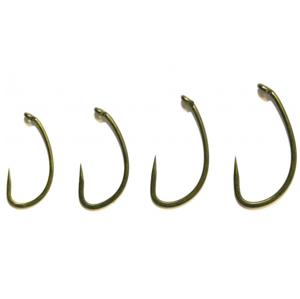 12ks - Háčky bez Protihrotu Avid Carp CRV Hooks Barbless Velikost 10