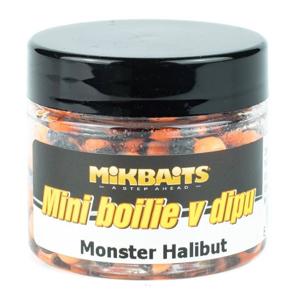 Mini Boilie v Dipu Mikbaits 6-8mm 50ml Monster Halibut