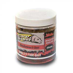 Dipované Boilies Carp Only 20mm 250ml White Fish Pellets