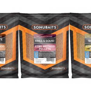 Feederové Pelety Sonubaits Stiki Method Pellets 2mm Krill & Squid