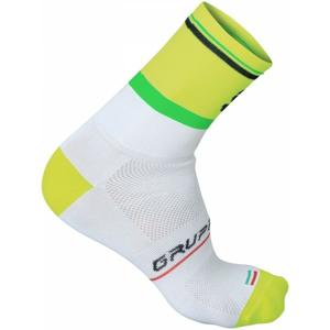 Sportful GRUPPETTO PRO 12 SOCK žlutá XL - Cyklistické ponožky