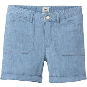 Lee SEASONAL SHORT BLEACHBEACHBLUE modrá 29 - Dámské šortky