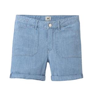 Lee SEASONAL SHORT BLEACHBEACHBLUE modrá 31 - Dámské šortky