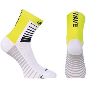 Northwave SONIC SOCKS žlutá S - Pánské cyklo ponožky