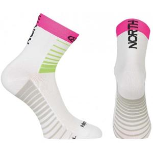 Northwave SONIC SOCKS růžová S - Pánské cyklo ponožky