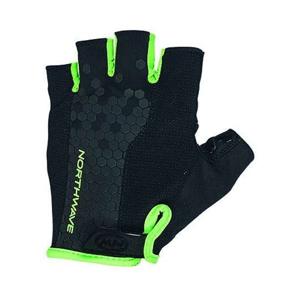 Northwave GRIP SHORT GLOVES černá XL - Cyklistické rukavice