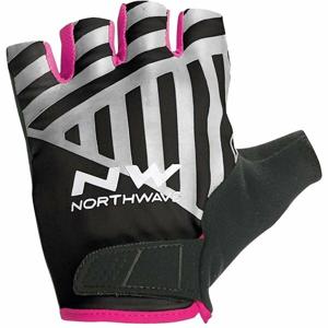 Northwave FLAG SHORT W GLOVES černá XS - Cyklistické rukavice