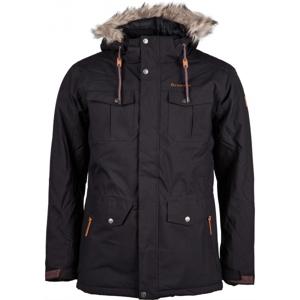 Carra LEON černá M - Pánská zimní bunda