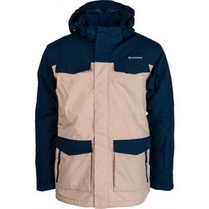 Carra BEN béžová M - Pánská lyžařská bunda