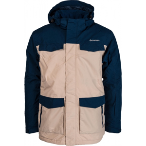 Carra BEN béžová L - Pánská lyžařská bunda