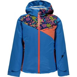 Spyder PROJECT G modrá 14 - Dívčí lyžařská bunda
