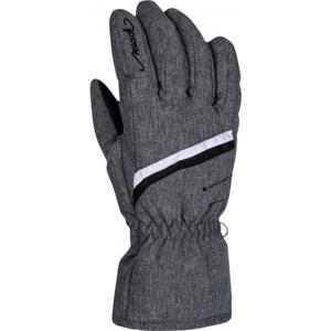 Reusch MARISA tmavě šedá 7 - Dámské lyžařské rukavice