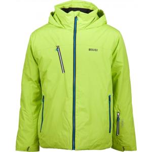 Brugi PÁNSKÁ BUNDA zelená XL - Pánská lyžařská bunda