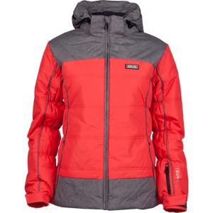 Brugi DÁMSKÁ BUNDA červená XS - Dámská zimní bunda