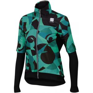 Sportful PRIMAVERA SWIT THERM zelená M - Dámská oboustranná bunda