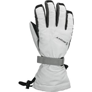Scott ULTIMATE WARM WOMENS bílá L - Dámské lyžařské rukavice